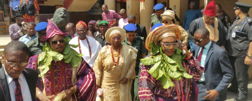Honouring A Pace-Setting Nationalist as Obiano Emerges as `Aare Amuagun of Ado Ekiti'